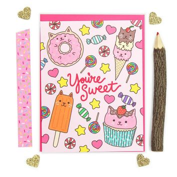 You're Sweet Greeting Card