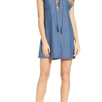 Knot Sisters Thalia Lace-Up Dress | Nordstrom