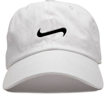The Double Wing Cap in White