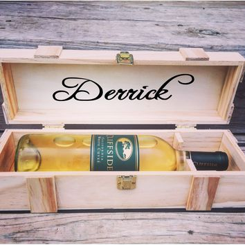 Customized Wine Box Case