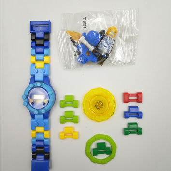NINJAGOE minifigures Building blocks DOLL Phantom Ninja Watch KAI JAY LLOYD Toys Bricks gift Compatible with Legoes