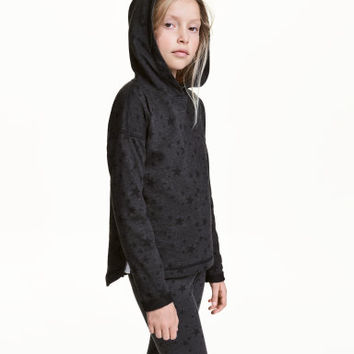 H&M Melange Hooded Sweatshirt $17.99