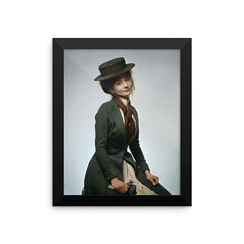Audrey Hepburn as Eliza Doolittle in My Fair Lady Framed Movie Poster
