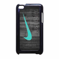 Nike Mint Just Do It Wooden iPod Touch 4th Generation Case