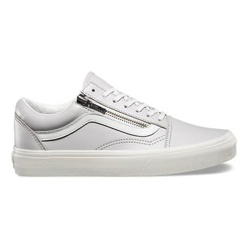 Leather Old Skool Zip | Shop at Vans