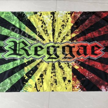 Reggae Rasta BOB Marley Hippie Band Hanging Flag And Banner Posters For Bar Party Music Festival Tattoo Shop Decoration Curtain