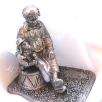 Vintage Michael Ricker Pewter Clown Collectible Limitied Edition I MINT