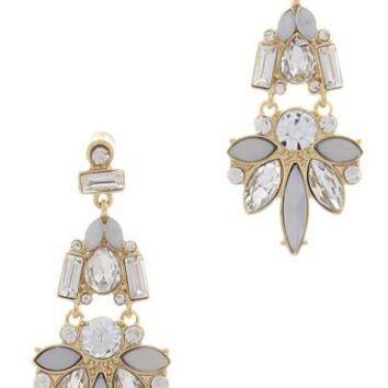 Rhinestone-Floral-Drop-Earrings
