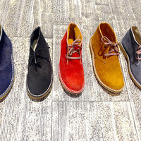Desert boots men/ women genuine leather winter shoes