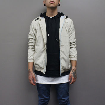 Alex Windbreaker Jacket (Khaki)