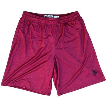 Cardinal Heather Lacrosse Shorts