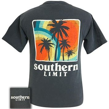 Southern Limits Palm Trees Unisex Comfort Colors T-Shirt