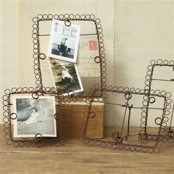 Wire Boulce Picture Frames