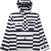 M.V.P. White/Navy M.V.P x Corona Anorak Jacket | HYPEBEAST Store. Shop Online for Men's Fashion, Streetwear, Sneakers, Accessories