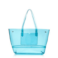 J.Crew Womens Clear Beach Tote
