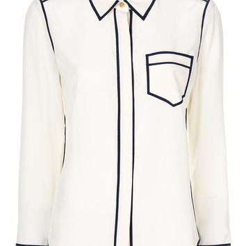 Tory Burch Contrast Trim Shirt - Farfetch