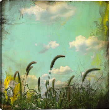 Remoteness III Landscape Canvas Wall Art Print by M. Drake
