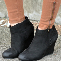More Than Love Booties - Black