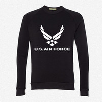 U.S. Air Force fleece crewneck sweatshirt