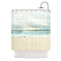 "Sylvia Cook ""Flight"" Shower Curtain - Outlet Item"
