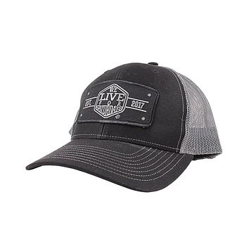 EST 2017 Trucker Hat by We Live For Saturdays