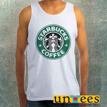 Starbucks Coffee Logo Clothing Tank Top For Mens