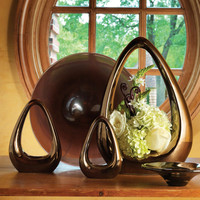 Carry About Vase-Bronze-Large
