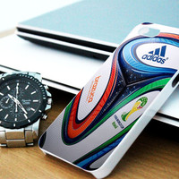 adidas brazuca world cup 2014 ball iPhone 4/4S / 5/ 5s/ 5c case, Samsung Galaxy S3/ S4 case, iPod Touch 4 / 5 case
