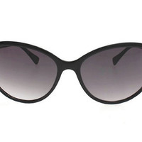 Vintage Cat Eye Sunglasses-Black Cateyes-Classic Eyewear-Twin Peaks Laura Palmer