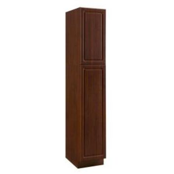 Heartland Cabinetry, 15x84x24 in. Split Utility Pantry in Cherry, 8010405P at The Home Depot - Mobile
