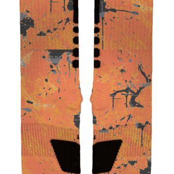 Orange Phantom Custom Nike Elites