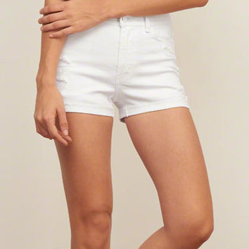 Womens Low Rise Denim BoyShorts | Womens Clearance | Abercrombie.com