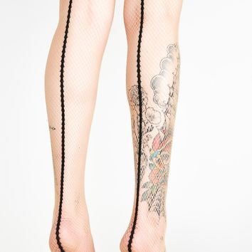 Catwalk Back Seam Tights