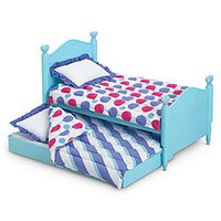 American Girl® Furniture: Trundle Bed & Bedding