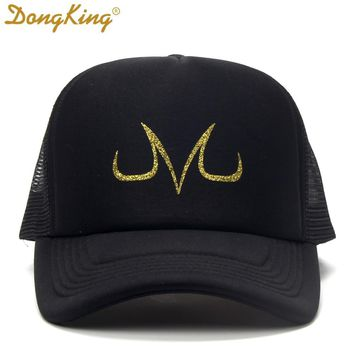 Trendy Winter Jacket Summer Mesh Caps Trucker Hats HOT High Quality Baseball Hat Boy's Girl's Snapbacks Dragon Gold Z Print AT_92_12