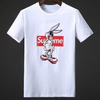 Supreme Fashion Casual Shirt Top Tee-50