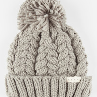 Neff Kaycee Beanie Grey One Size For Women 26396411501