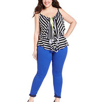 Celebrity Pink Jeans Plus Size Jeans, Colored Skinny - Plus Size Jeans - Plus Sizes - Macy's
