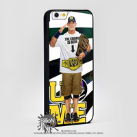 John Cena Wwe Champion U Cant See Me  For Apple, Iphone, Ipod, Samsung Galaxy Case
