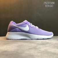 NIKE ROSHE Women fashion sports shoes purple H-PSXY