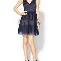 Willa Tiered Lace Dress