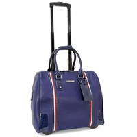 "Cabrelli 15.6"" Women's Rolling Laptop Bag - Rollerbrief with Tape Detailing - Laptop Bags"