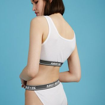 Kiko Mizuhara for Opening Ceremony KIKO x OC Soft Rib Underwear - WOMEN - JUST IN - Kiko Mizuhara for Opening Ceremony