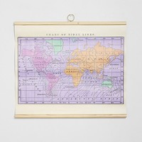 Tidal Map Wall Art - Urban Outfitters
