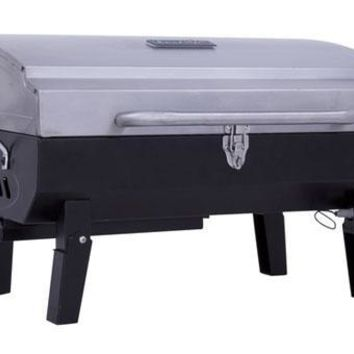 Char-Broil Stainless Gas Tabletop Grill