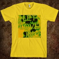Let Love In (yellow)