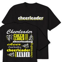 Neon Zebra Cheerleader T-Shirt