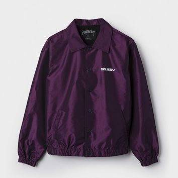 Iridescent Coach Jacket
