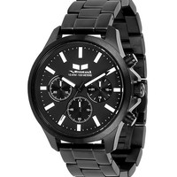Vestal HEICM02 Men's Watch Gunmetal Band Heirloom Chronograph