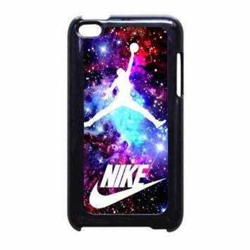 DCKL9 Jordan Nebula Galaxy Nike iPod Touch 4th Generation Case